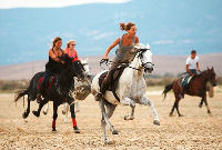 Horse Riding on the beach of Tarifa